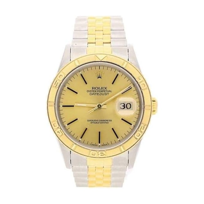 Rolex Datejust Turn-O-Graph 16263 Mens Watch - 1991