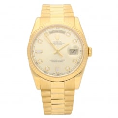 Day-Date 118238 - Gents Watch - Diamond Dial - 2001