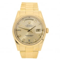Day-Date 118238 - Gents Watch - Diamond Dial - 2003