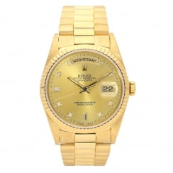 Day-Date 18238 - All Gold Gents Watch - 1990