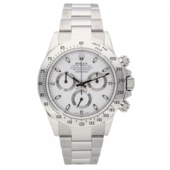 Daytona Cosmograph 116520 - Gents Watch - White Dial - 2012