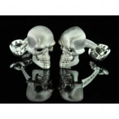 Deakin and Francis Diamond Skull Cufflinks