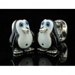 Deakin and Francis Penguin Cufflinks