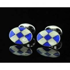 Deakin and Francis Silver Cufflinks