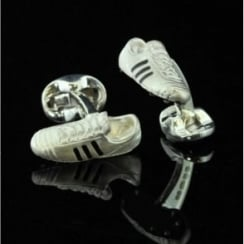Deakin and Francis Silver Football Boot Cufflinks