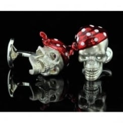 Deakin and Francis Skull Cufflinks