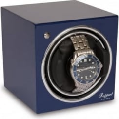 Evo Cube Watch Winder Admiral Blue