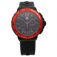 Formula 1 CAU1117 - Black Dial - Red Bezel - 2014 Approx
