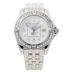 Galactic A71356 - Mother of Pearl Dial - Diamond Bezel