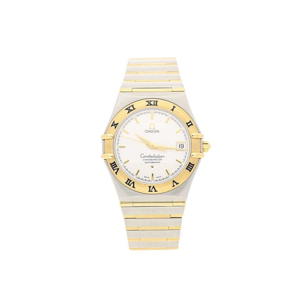 Second hand gents omega constellation watch 12021000 for Omega watch constellation