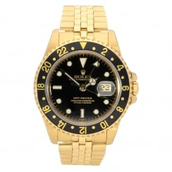 GMT Master 16758 - 18ct Yellow Gold - 1984