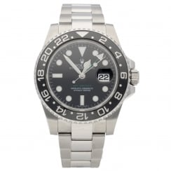 GMT Master II 116710LN - Gents Watch - Black Dial - 2011
