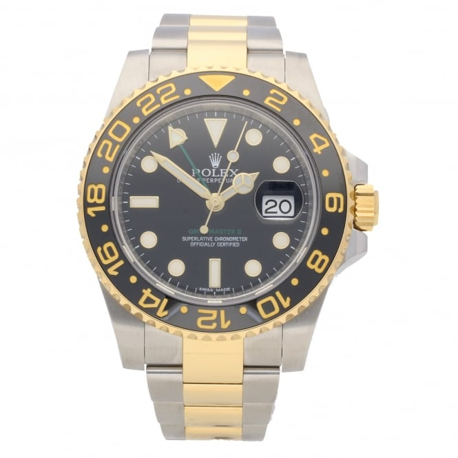 Rolex GMT Master II 116713LN - Gents Watch - Black Dial - 2016