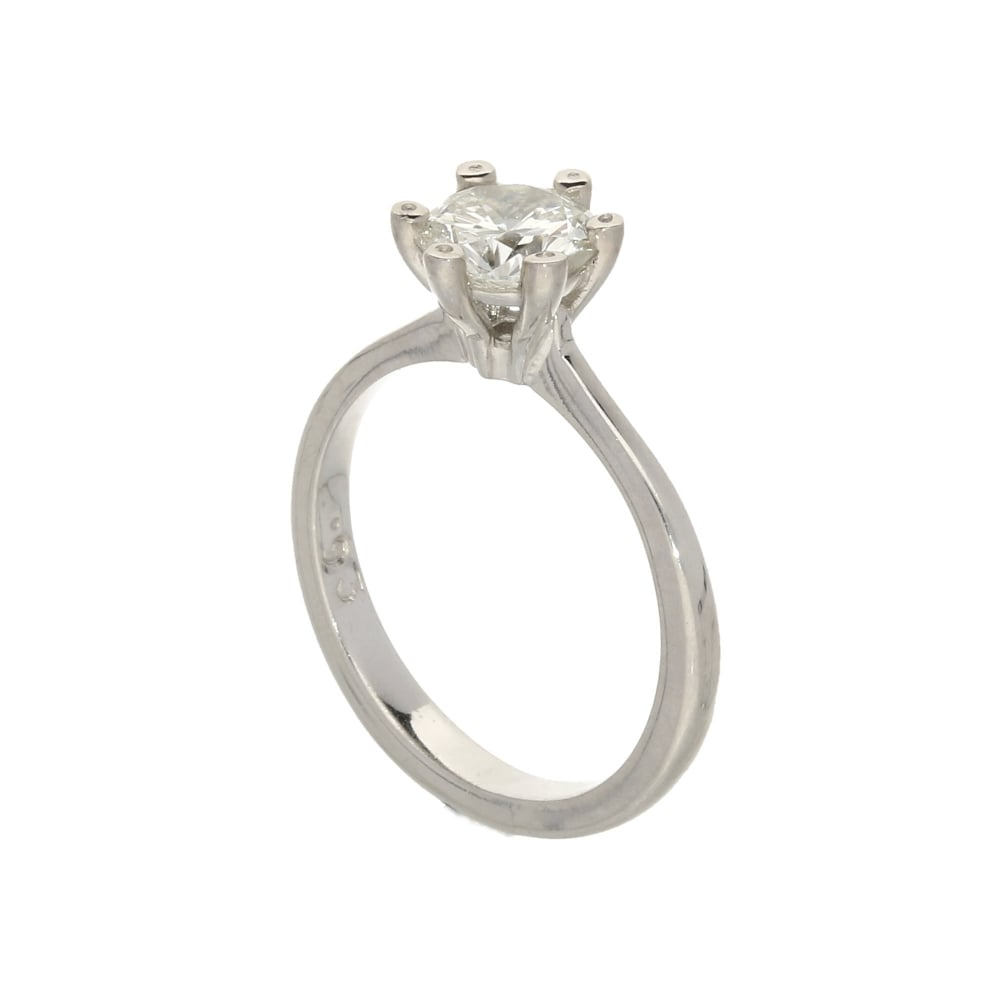 Pre Owned 18ct Diamond Engagement Ring