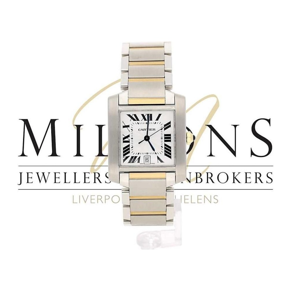 9c08424e2a68c Cartier Ladies Used Cartier Tank Francaise 2302 Watch - Watches from ...