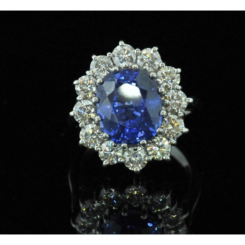 in from jewelry women s party gift extravagant large natural item ring girl fine stone silver gem flowers rings blue sapphire