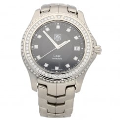 Link WJ1117-0 - Gents Watch - Diamond Bezel - Approx 2005