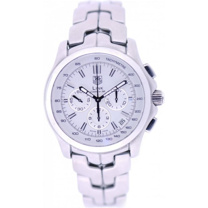 tag heuer mens pre owned tag heuer link watches