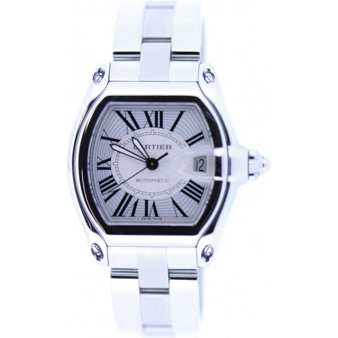 cartier mens second hand cartier roadster watch watches from miltons diamonds uk. Black Bedroom Furniture Sets. Home Design Ideas