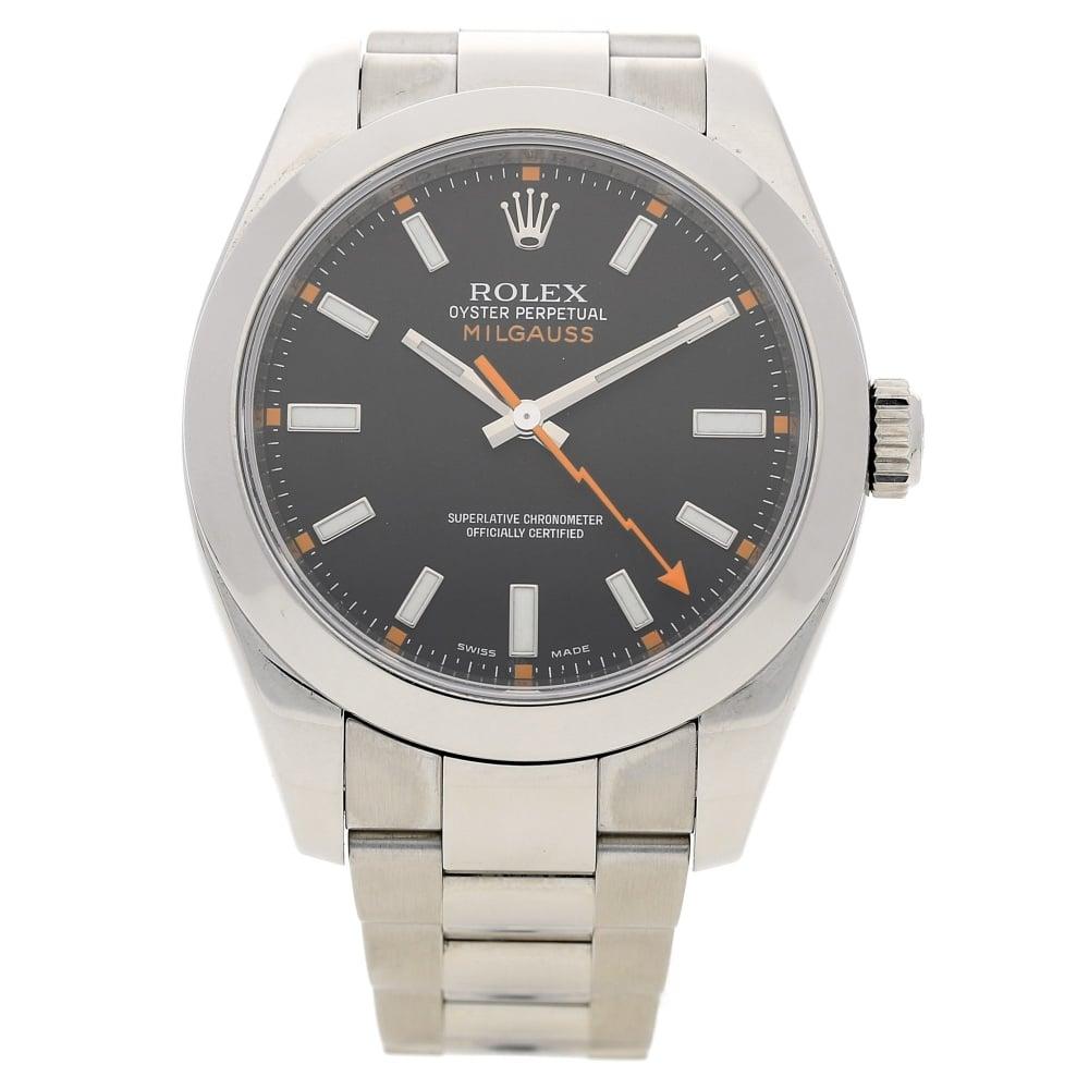 Rolex Milgauss 116400 , Black Dial , 2008