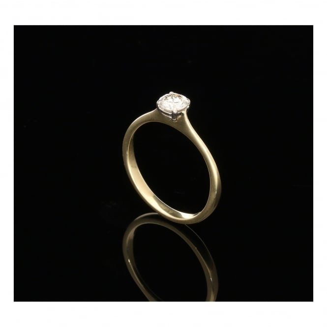 Miltons Diamonds 18ct Yellow Gold Engagement Ring - 0.41ct