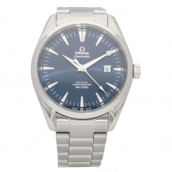 Seamaster 2502.80.00 - Gents Watch - Blue Dial - 2008