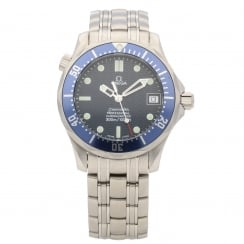 Seamaster - Midsize Watch - Approx 2004 - Blue Dial