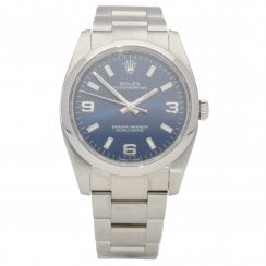 Oyster Perpetual 114200 - Gents Watch - Blue Dial - 2014