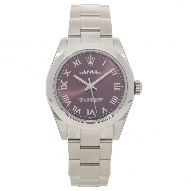 Rolex Oyster Perpetual 177200 - Red Grape Dial - Unworn 2016
