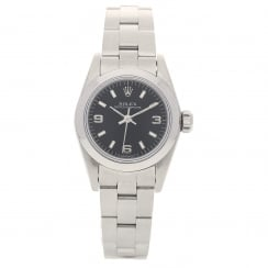 Oyster Perpetual 67180 - Ladies Watch - Black Dial - 1996