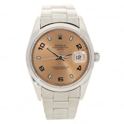 Oyster Perpetual Date 15200 - Copper Dial - 2003