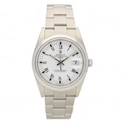 Oyster Perpetual Date 15200 - Gents Watch - White Dial - 2006