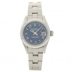 Oyster Perpetual Date - Ladies Watch - Blue Dial - 1998