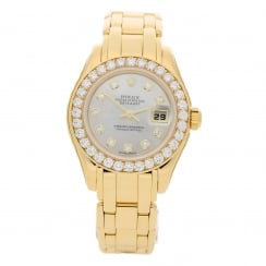Pearlmaster 69298 - Diamond Bezel - 18ct Gold - 1996