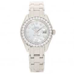 Pearlmaster 80299 - 18ct White Gold - Diamond Bezel - 2000