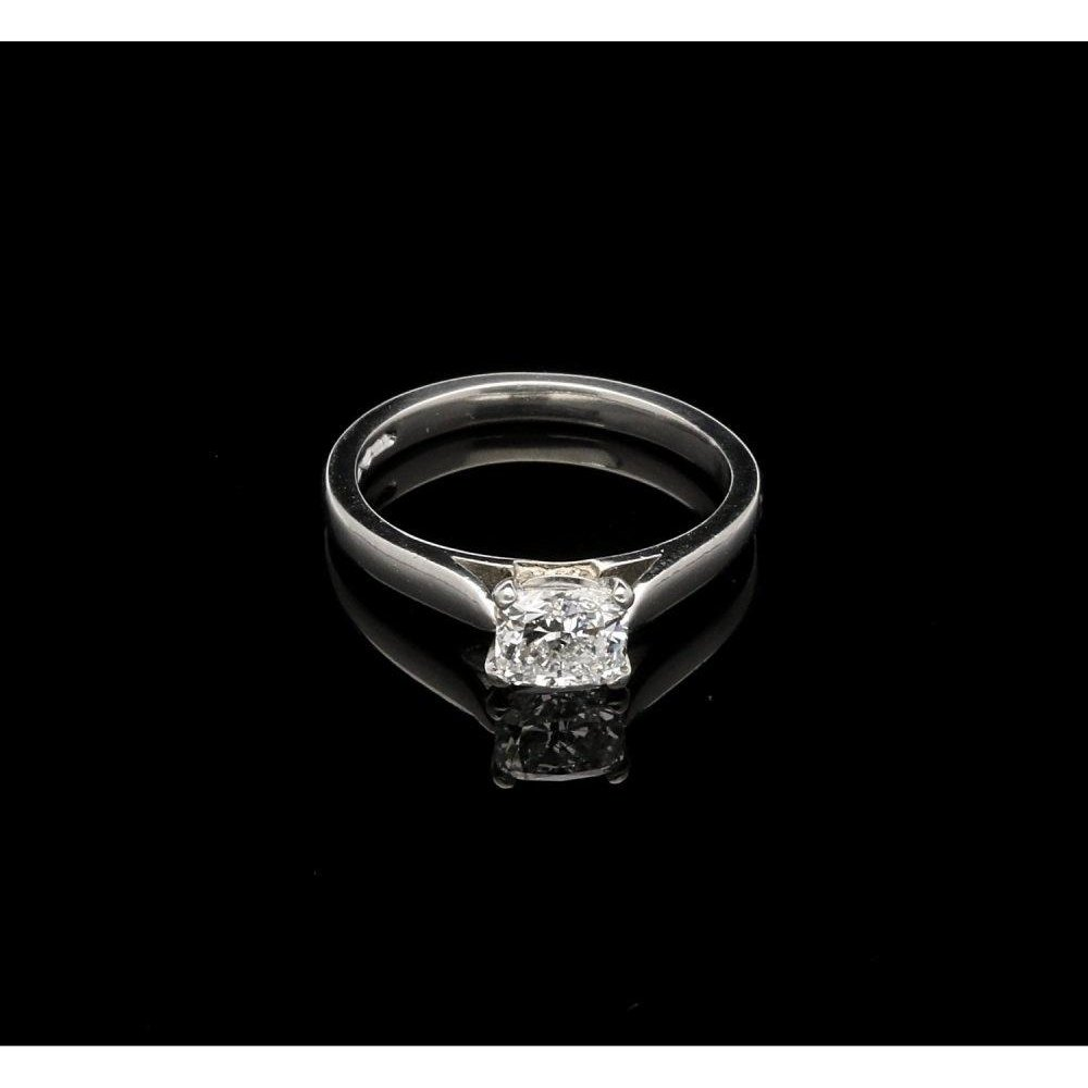 Second Hand Certified Diamond Engagement Ring