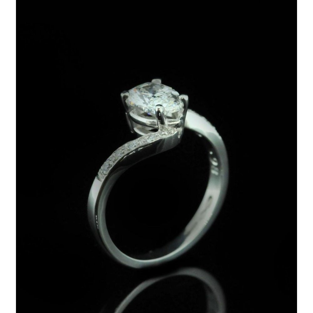 diamond pear halo shaped white ring wedding engagement gold in rings