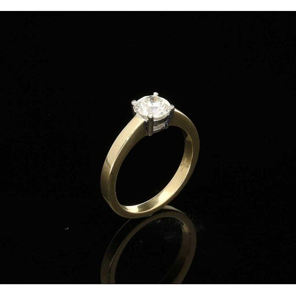 Preowned Wedding Rings: Pre-Owned 18ct Diamond Solitaire 0.75ct