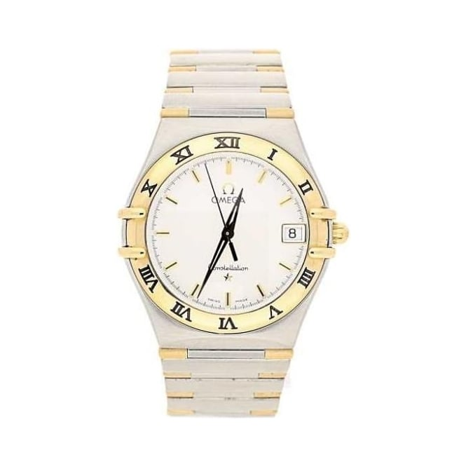 gents pre owned omega constellation 1312 30 00 miltons