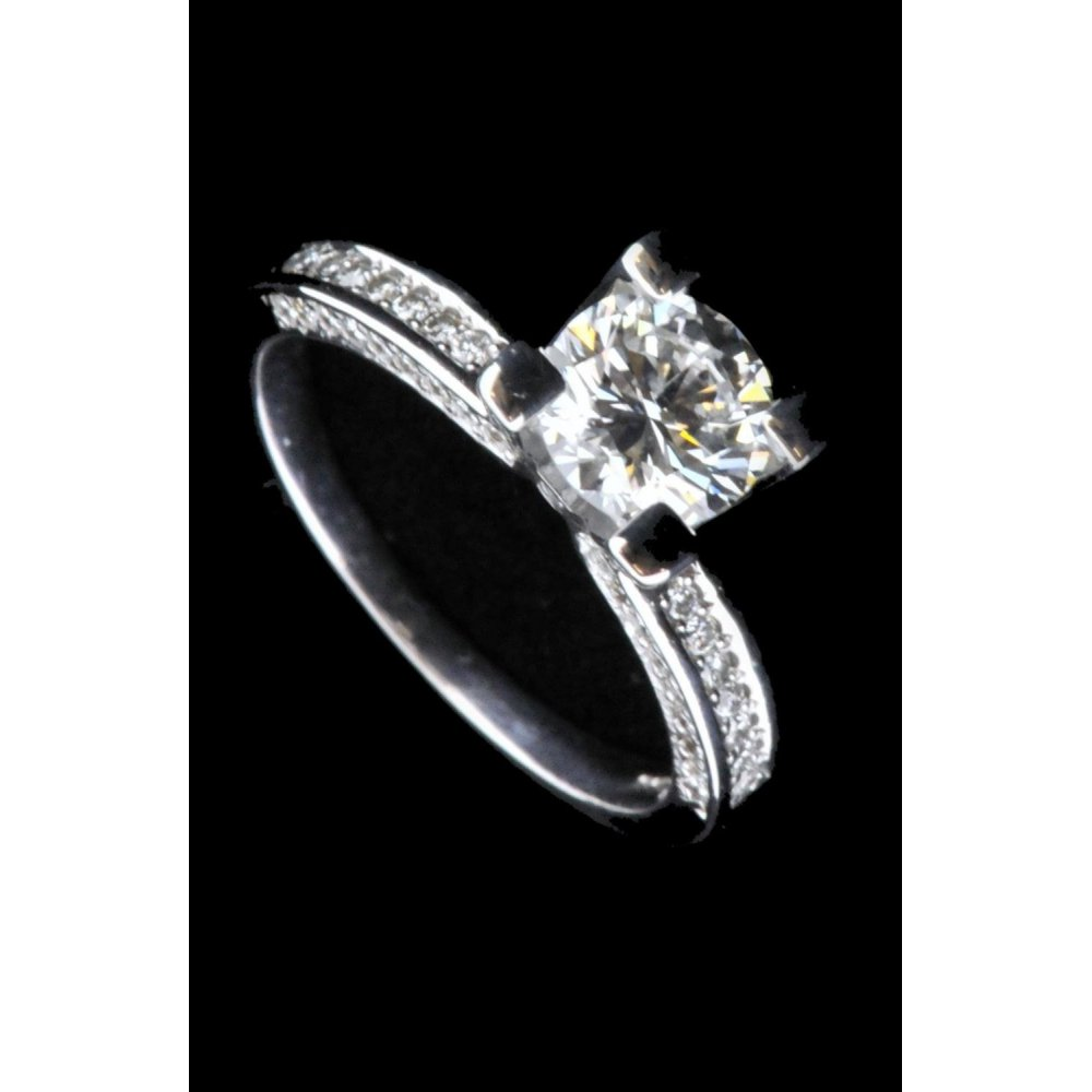 Pre Owned Ladies Diamond Engagement Ring