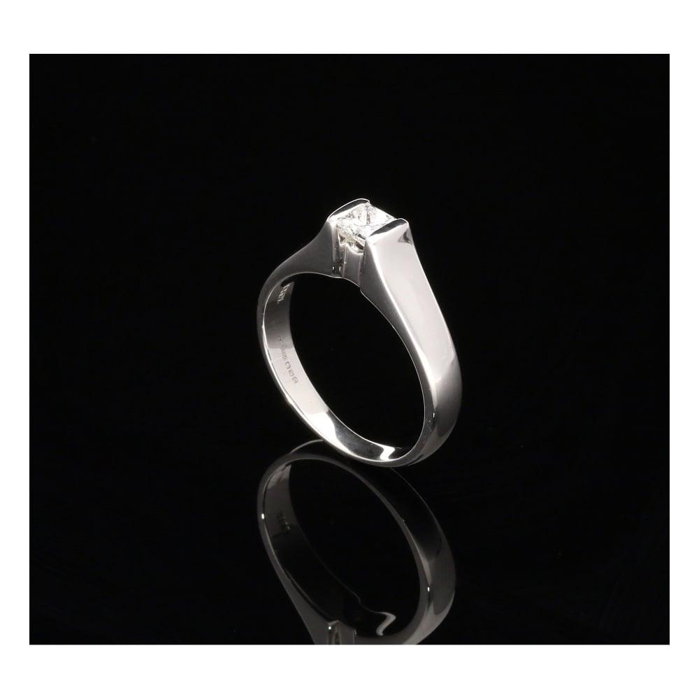 Secondhand Princess Cut Diamond Engagement Ring
