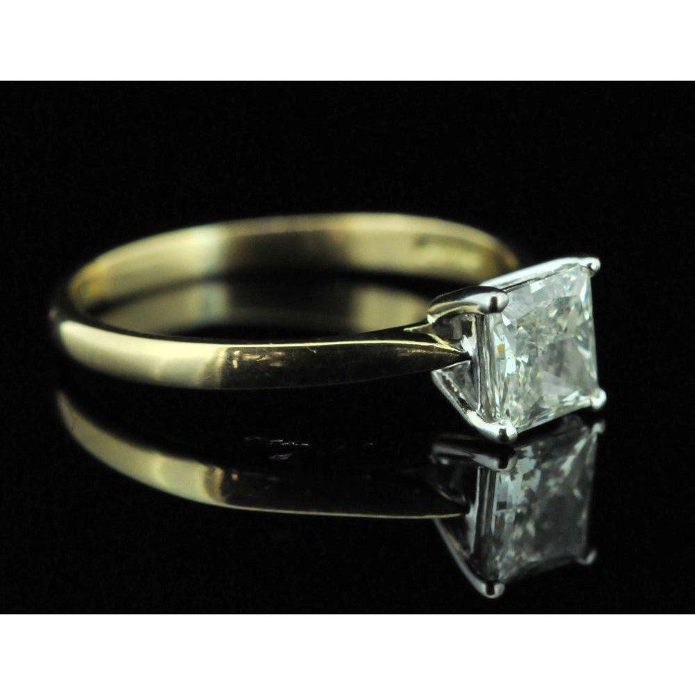 Princess Cut Diamond Ring 1 02ct
