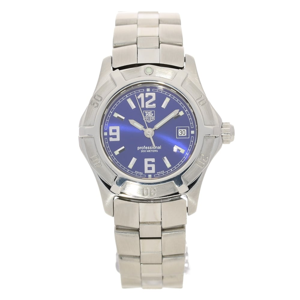 cc360d9dc67 Ladies Tag Heuer Professional WN1312 - Ladies Watch - Blue Dial