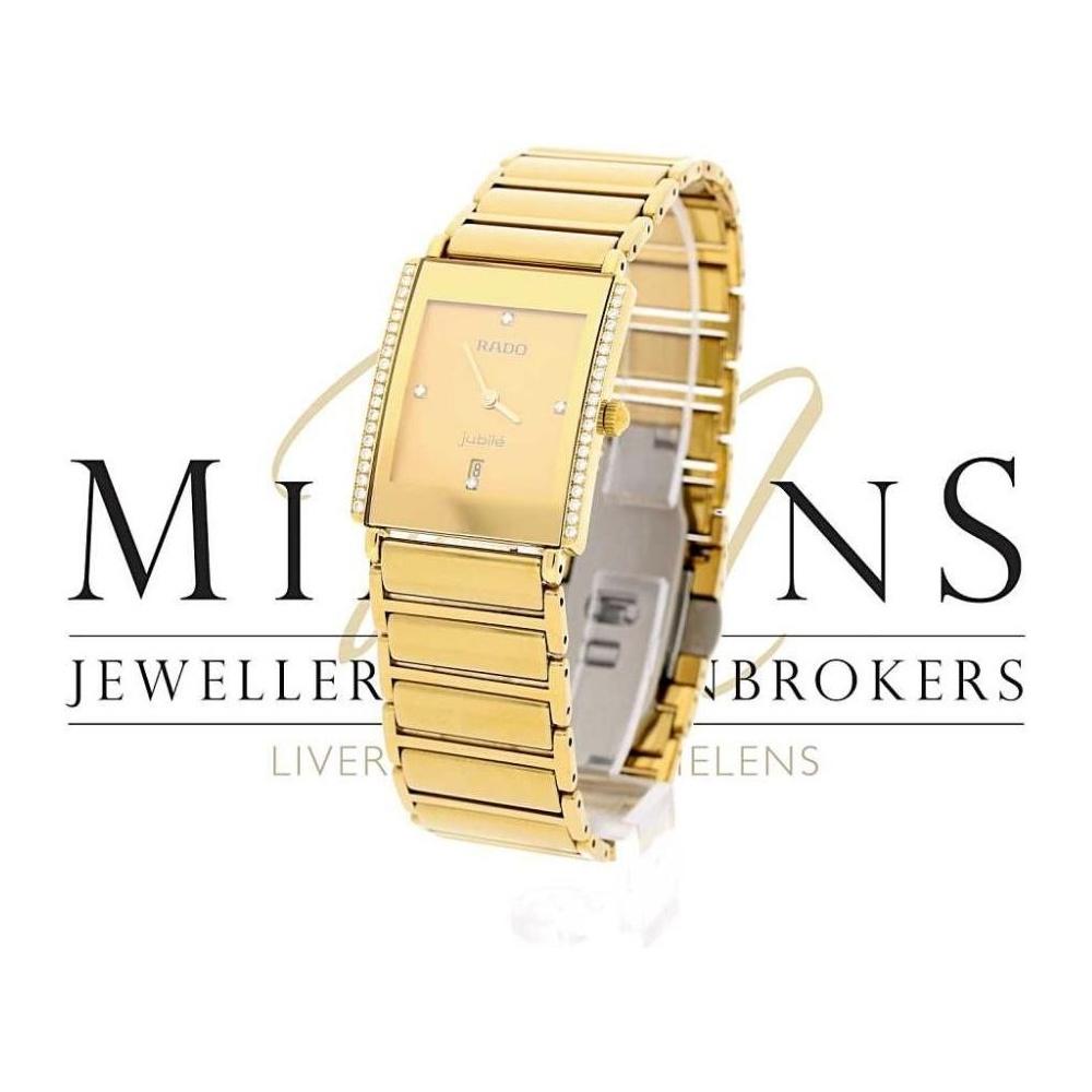 часы rado jubile gold