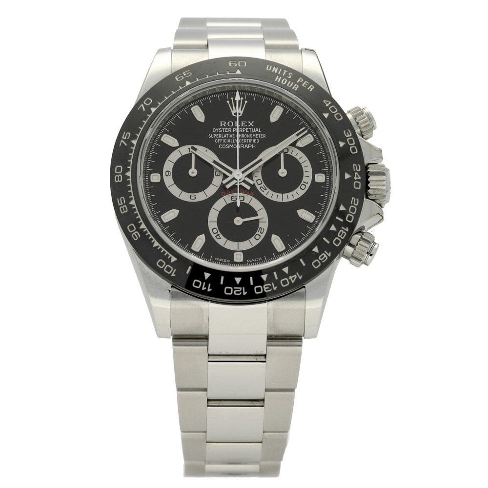 rolex cosmograph daytona 116500ln black dial unworn. Black Bedroom Furniture Sets. Home Design Ideas