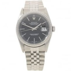 Datejust 16220 - Black Dial - 2004