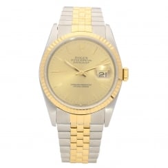 Datejust 16233 - Gents Watch - Baton Dial - 1990