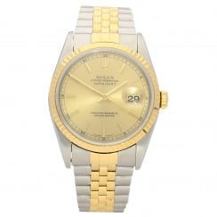 Datejust 16233 - Gents Watch - Champagne Dial - 2000