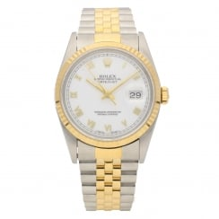 Datejust 16233 - Gents Watch - White Dial - 1994