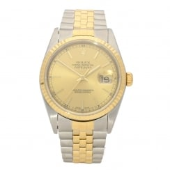 Datejust 16233 - Gold Baton Dial - 2004